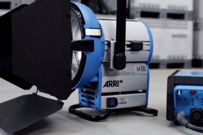 ARRI M18 1800W HMI System