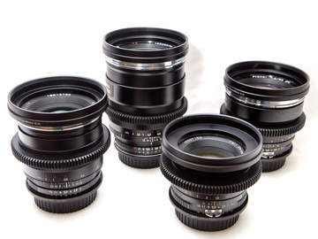 Rent: Zeiss ZF (Canon Mount) 25/35/50/85 + Filters