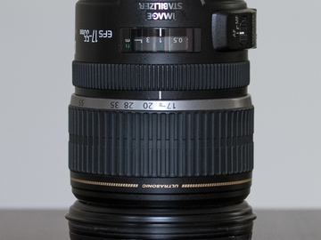 Rent: Canon EF-S 17-55 f/2.8 IS USM with Lens Hood