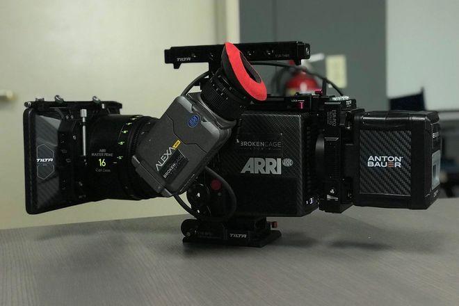 4x Anton Bauer Cine 150 Gold-Mount