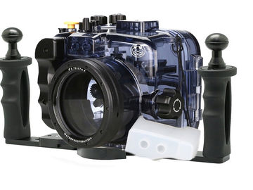 Rent: Underwater Housing for Sony a6500/6300/6000 (w/ Two Handle T