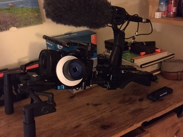 Rent: Sony A7Sii package with EF lenses, cage, shoulder rig & more