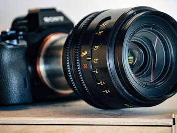 Rent: Sony Alpha a7S II Package with PL and Cooke Lens