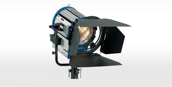 Arri 2K 2000 watt Fresnel Light Kit