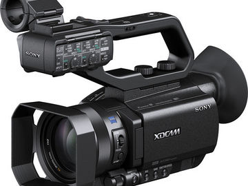 Rent: SONY PXW-X70 WITH 4K UPGRADE CAMERA PACKAGE WITH ACCESSORIES