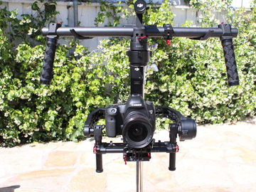 Rent: DJI Ronin Gimbal W/Thumb Controller and 80mm Extension Arms