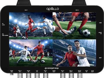 Rent: Convergent Design Apollo Multicam Recorder/Switcher