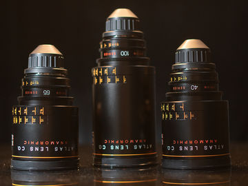 Rent: Atlas Lens Company Orion Anamorphic 40mm, 65mm, 100mm t/2