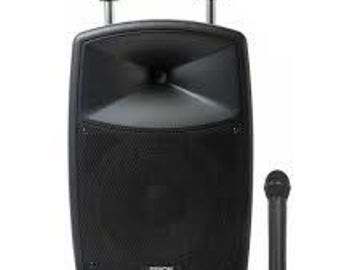 Rent: DENON ENVOI PORTABLE SPEAKER SYSTEM W/ BLUETOOTH & MIC