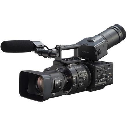 Sony NEX-FS700R Super 35 Camcorder with PZ Lens.
