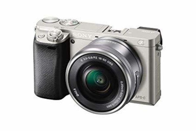 Sony Alpha a6000 Mirrorless Digital Camera with 16-50 Lens