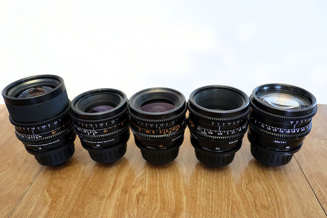 Zeiss Super Speed Mark II Lens Set (18, 25, 35, 50, 85)