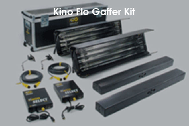 Kino Flo  (2)4-ft 4-Bank gaffer kit