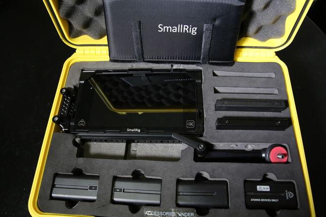 Atomos Shogun 4K Monitor Recorder w/ Cage and 2 SSD's