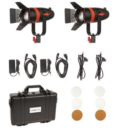 came-TV CAME-TV Boltzen 55W  LED Fresnel 2-Light Kit