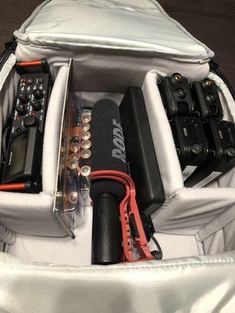 Rode RodeLink Wireless Filmmaker Kit (2 Sets) & Tascam DR70D