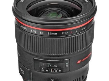 Rent: Canon EF 24mm f/1.4 L II USM