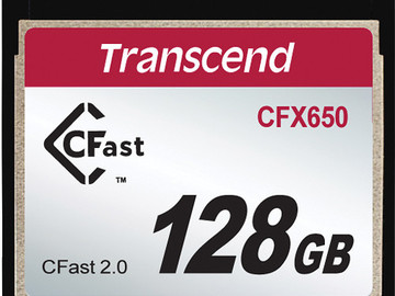 Rent: 2x Cfast Card 128Gb with USB 3.0 card reader
