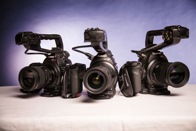 (QUINT 5x) Canon EOS C100 Cinema Camera Package