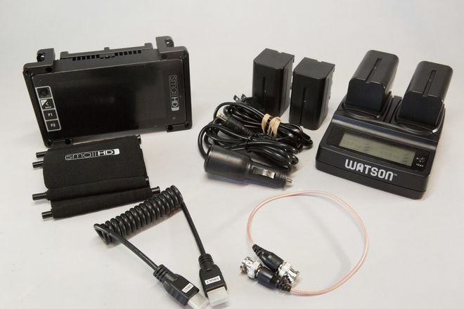 SmallHD 503 AC Monitor Kit w/ Sony Batteries