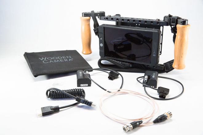 SmallHD 702 & Handheld Directors Monitor Cage V2