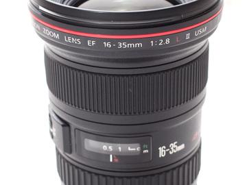 Rent: Canon 16-35mm L F/2.8 MKII Lens