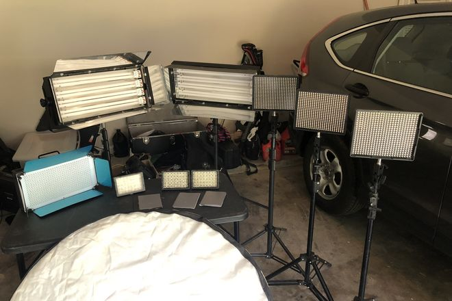 LED and DIVA lighting Kit