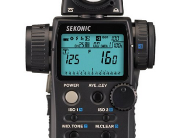 Rent: Sekonic L-758DR DigitalMaster Lightmeter