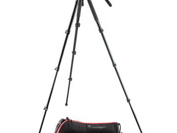 Rent: Manfrotto 504HD Tripod Head and Legs