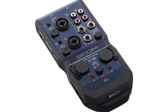 Zoom U-44 4x4 audio interface (modules available)