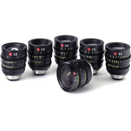 Leica Summicron-C T2.0 6-Lens Set (18, 25, 35, 50, 75, 100)