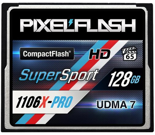 128GB SUPERSPORT 1106X CF CARD - PIXELFLASH