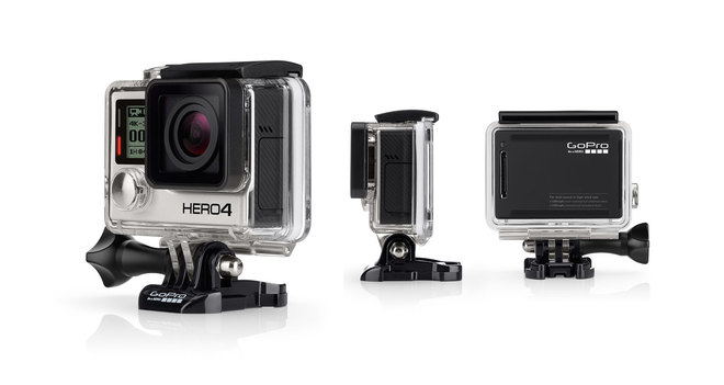 GoPro Hero4 Black 4K Camera