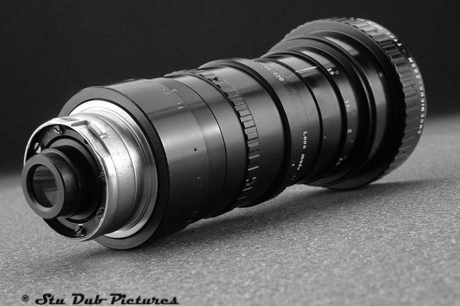 Angenieux 12-120 T2.8 Zoom Lens-Arri B Mt w/PL,MFT,EF adapts