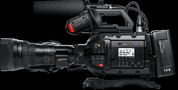 Blackmagic URSA Broadcast Camera (Full Production Package)