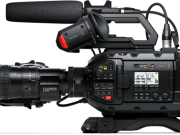 Blackmagic URSA Broadcast Camera (Full Production Package)