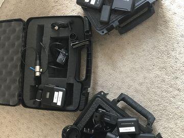 Rent: 3 Sennheiser AVX Lavalier Set (LAV Microphone)