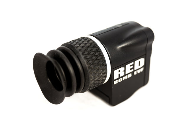 RED Bomb EVF (OLED) with Spinner mounting accessory