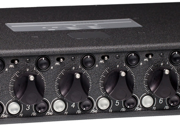 Sound Devices 664 Mixer/Recorder - CF, SD Cards, Batteries
