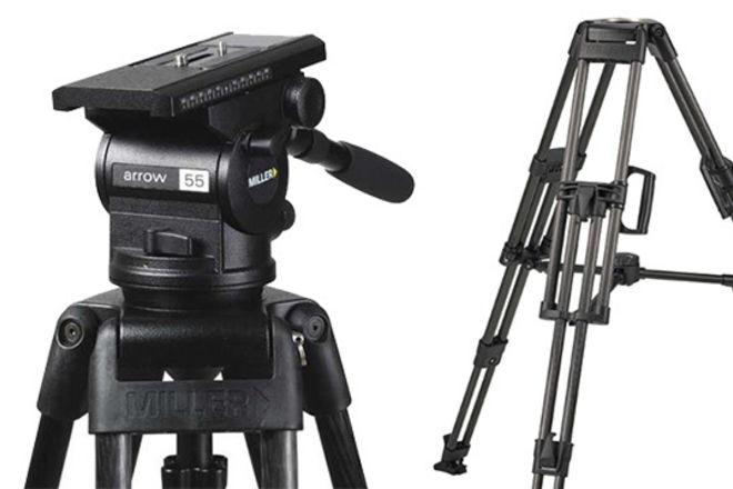 Miller Arrow 55/HD ENG-CF Tripod