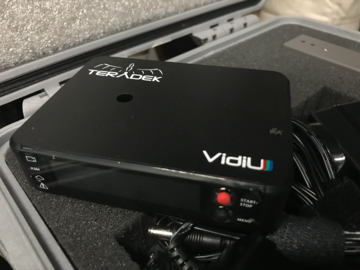 Teradek VidiU and AJA BNC to HDMI Converter for Live Stream