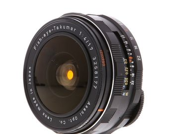 Rent: Super Takumar 17mm F/4 Fisheye EF Mount