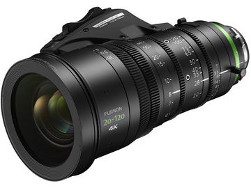 Rent: Fujinon 20-120mm T3.5 Cabrio Zoom