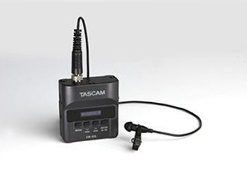 Rent: TASCAM DR-10L Lavalier Microphone