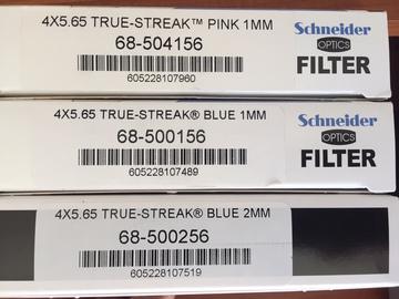 Rent: 4x5.65 TRUE STREAK in BLUE 1MM & 2MM & PINK 1MM