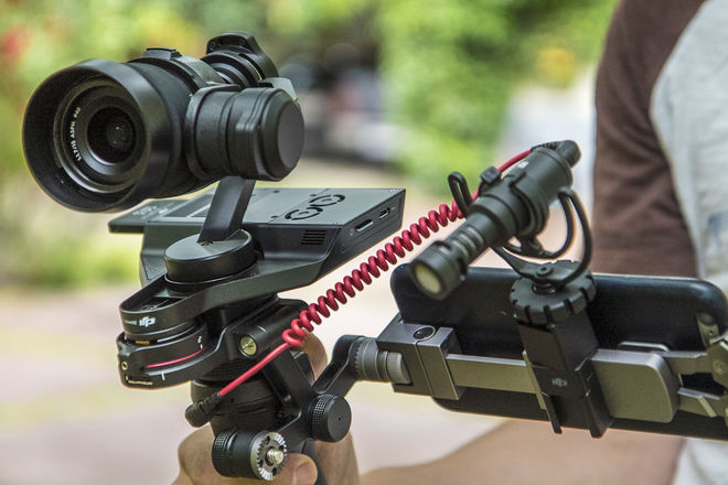 DJI Osmo Pro/RAW  x5r w/ 3 lenses and full  accesories