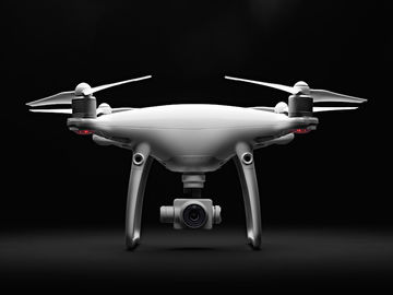 Rent: DJI Phantom 4  Advanced Quadcopter Complete flight package