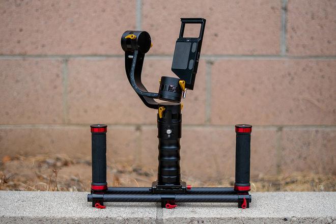 Ikan DS1 Beholder Gimbal with Carbon Fiber Dual Grip