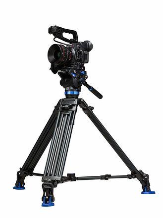 Benro S8 Twin Leg Aluminum Video Tripod Kit