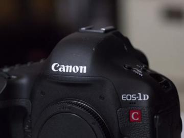 Rent: Canon 1dc - 4K